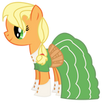 Applejack at the 2012 Gala