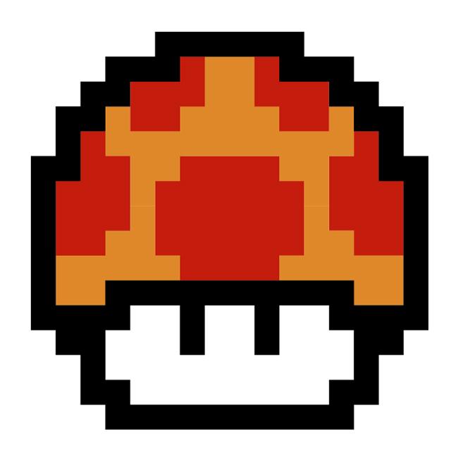 Vector Mario Bros Mushroom By Chris A On Deviantart