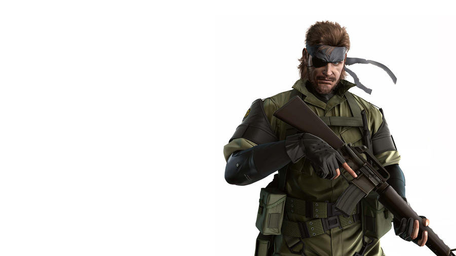 Big Boss Wallpaper By Chris A On Deviantart