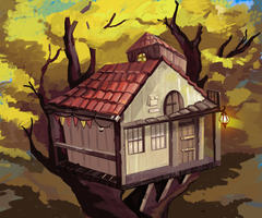 Tree house by Amadze
