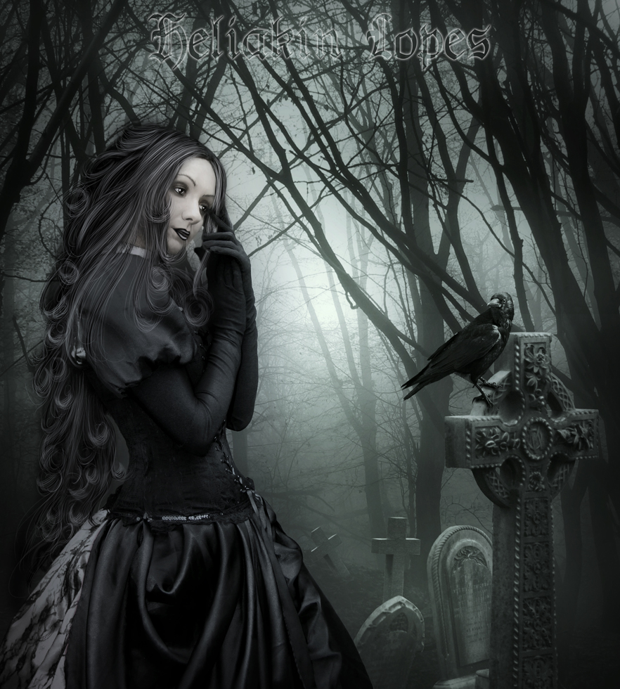 The beauty  gothic moonlight