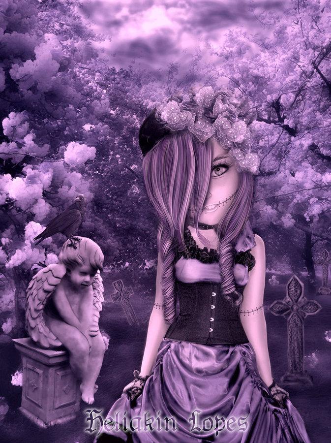Dark Doll ll by Heliakin