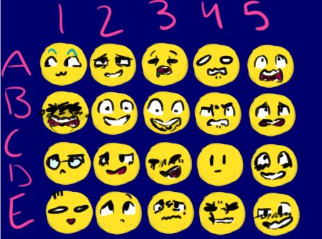 Emotions Challenge by PaddyPirateFan