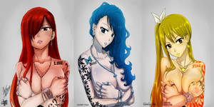 Fairy Tail womans tatto