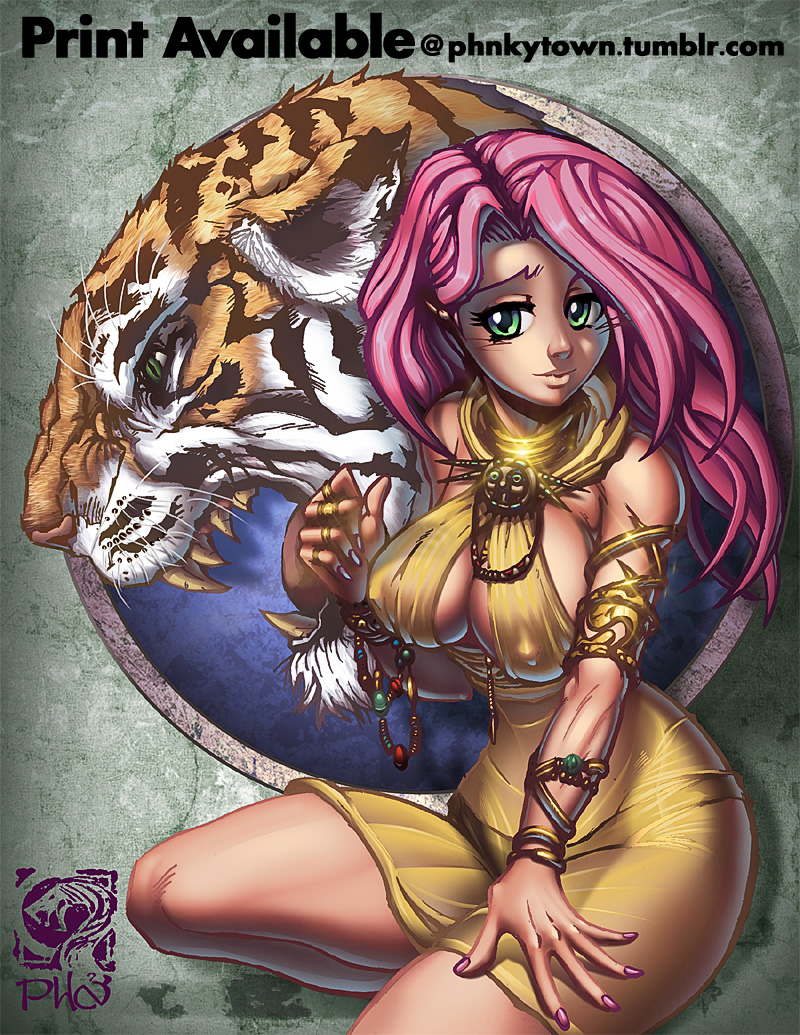 Fluttershy: The BeastMistress by mastafuu