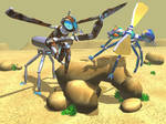 Robot Insects by SonarX