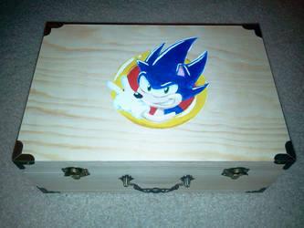 Sonic Chaos Emerald Box