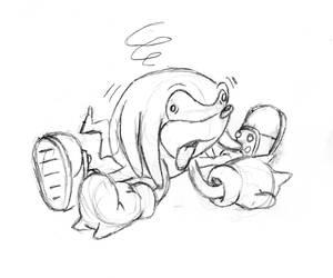 Nauseous Knuckles Sketch