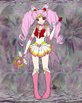Chibi Moon on the Moon Too by Blackmoonrose13