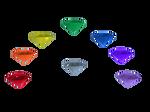 Rainbow Crystals