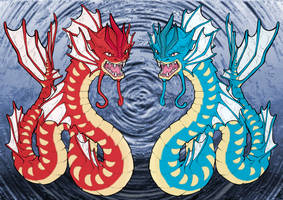 Epic Gyarados by Blackmoonrose13