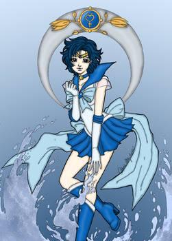 Sailor Mercury Aqua Illusion