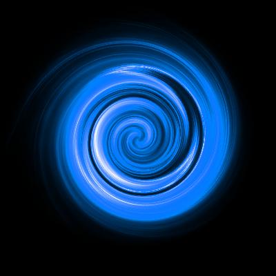 swirl blue