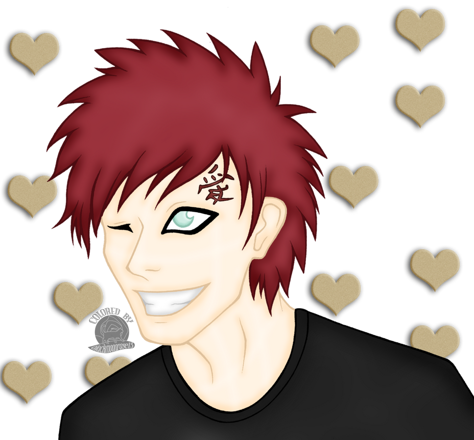 Gaara Smile Ladies by Blackmoonrose13 on DeviantArt
