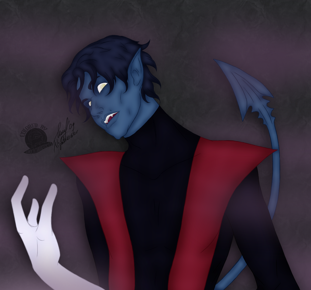 Nightcrawler by Blackmoonrose13