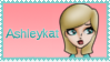 Ashleykat Stamp by Blackmoonrose13