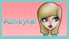 Ashleykat Stamp by Blackmoonrose13