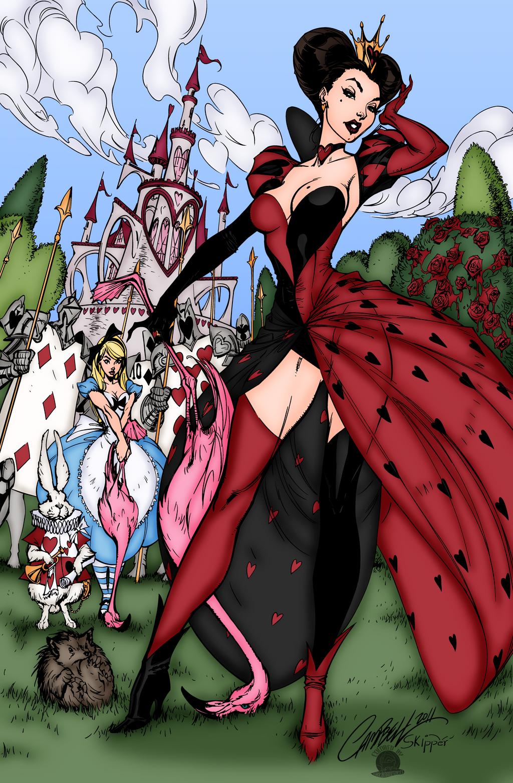Queen Of Hearts Croquet Match By Blackmoonrose13 On DeviantArt
