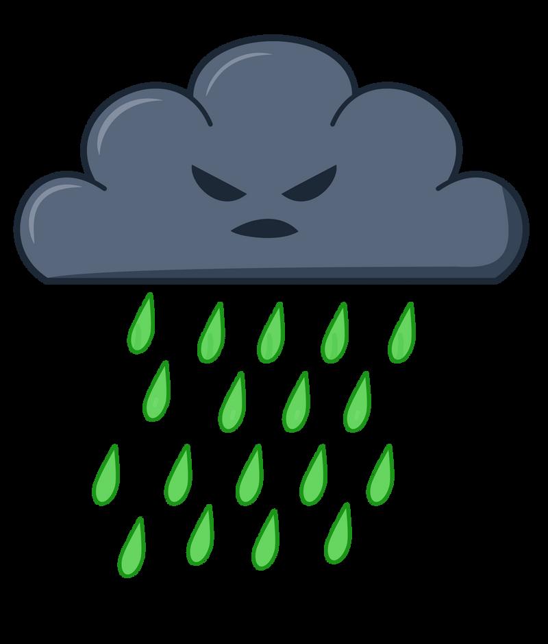 Acid Rain Cloud By Blackmoonrose13 On Deviantart