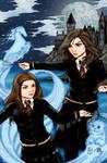 Hermonie and Ginny