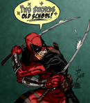 Dual Blade Deadpool