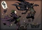 Old West Batman VS Joker