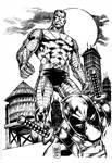 Deadpool Colossus inks