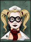 Arkham Asylum Nurse Harley Quinn