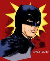 Adam West Batman by Blackmoonrose13