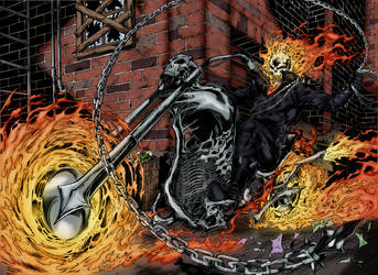 Ghost Rider by Blackmoonrose13
