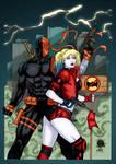 Deathstroke And Harley Quinn