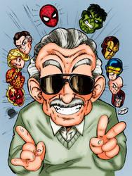RIP Master Stan Lee by Blackmoonrose13