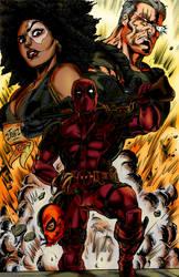 Deadpool 2 by Blackmoonrose13