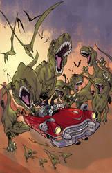 Cadillacs and Dinosaurs by Blackmoonrose13