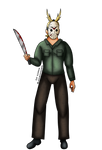 Jason Voorhees All Might by Blackmoonrose13