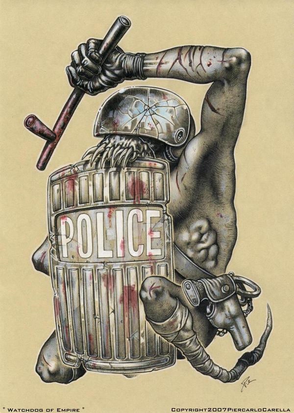 ' Watchdog of Empire ' by pierk