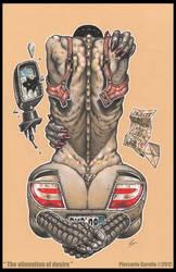'The alienation of desire' 2012 by pierk