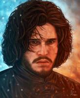 Jon Snow by BenMaud