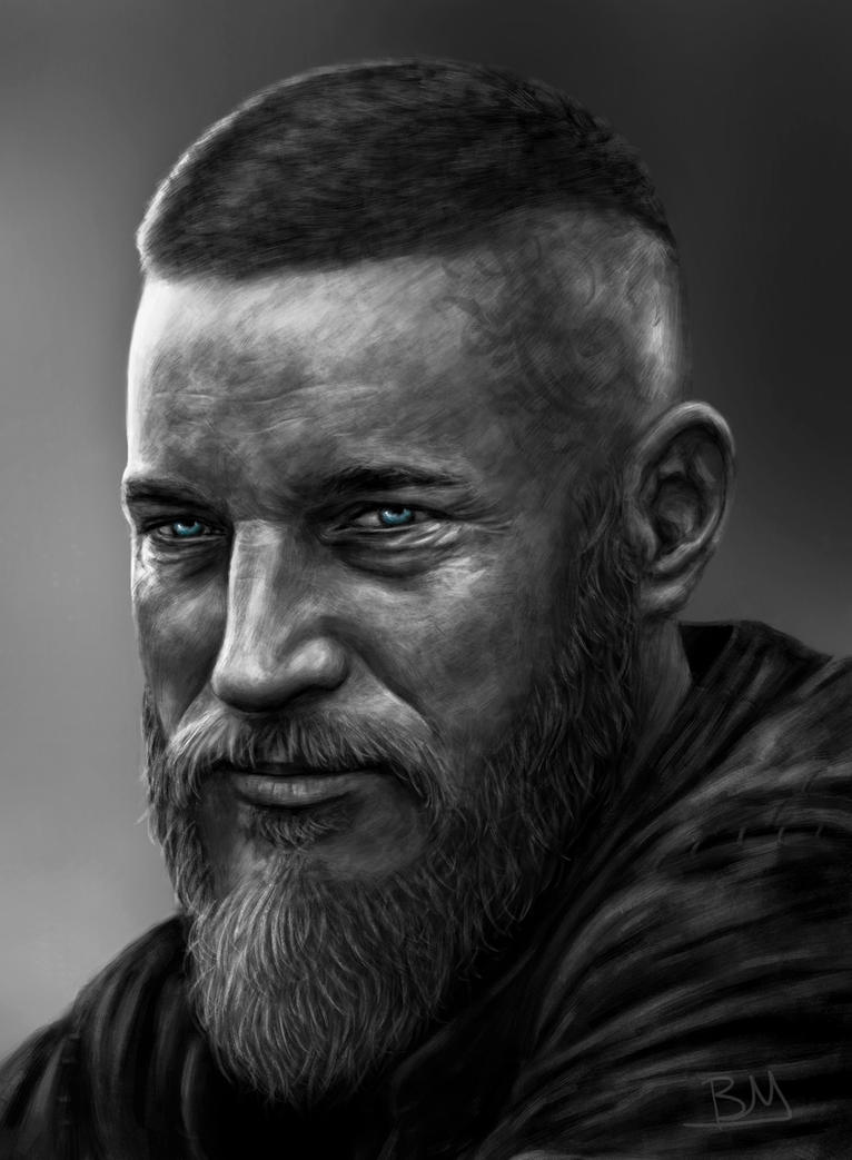 Ragnar Lothbrok - Vikings by BenMaud on DeviantArt