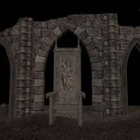 Throne by ThornErose-Stock
