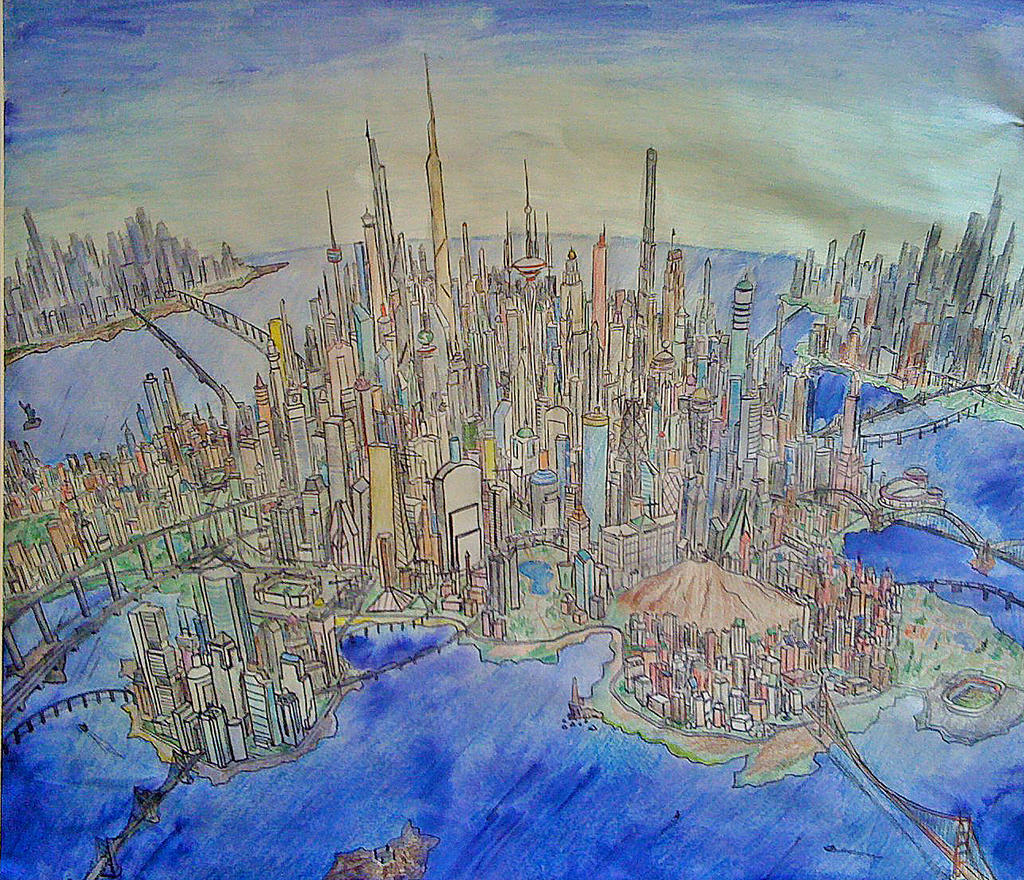 Utopia City by theEmperorofShadows