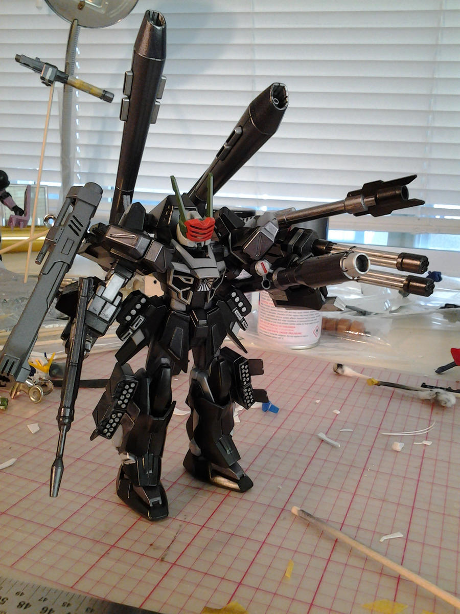 HG 1/144 Warmonger WIP by Chen-Chan on DeviantArt
