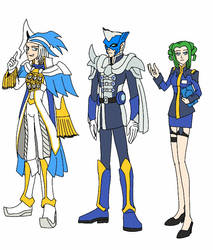 Prince Vekar, Vrak and Alice by Chen-Chan