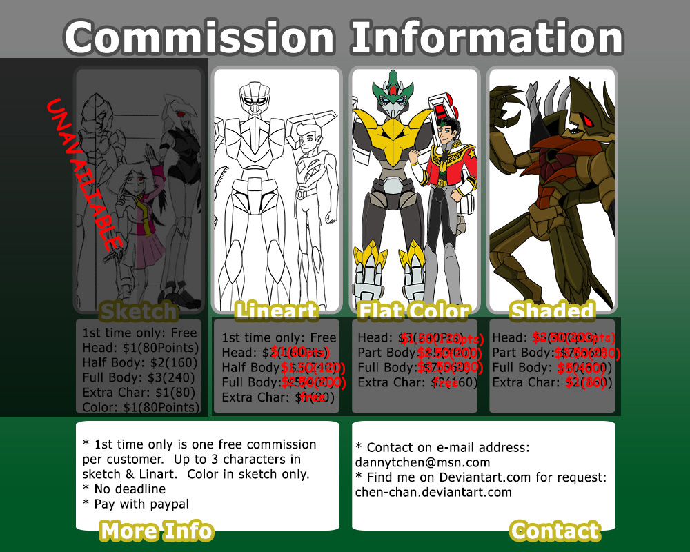 Chen-Chan commission info by Chen-Chan