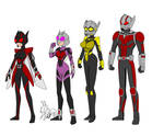Ant-Man and the agents of INSECT