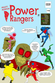 mighty-morphin-power-rangers-20 variant cover
