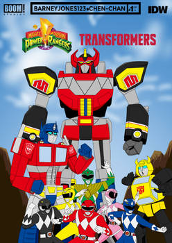 MMPR x Transformers First issue