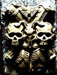 gore creepy horror guro scary eerie death skulls