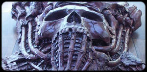 art creepy sculpture goth scary eerie dark art by JanuszDolinski