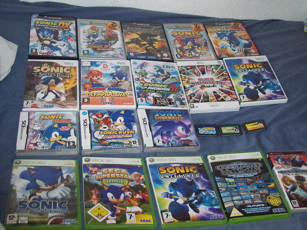 Sonic Genesis Collection Classic Game Room